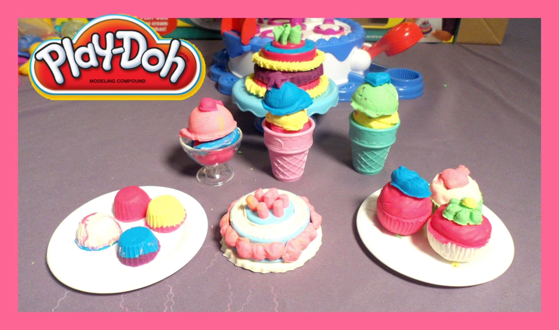 Play Doh Cake Ice Cream Confections Set