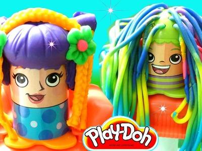 "Play-Doh Crazy Cuts Hair Cut Salon Playset - Design Beautiful Play-Doh hair by ""Rainbow Collector"""