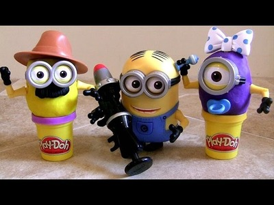 PLAY DOH Despicable Me Build a Minion Birthday Party Baby Carl & Dave by Toy Collector