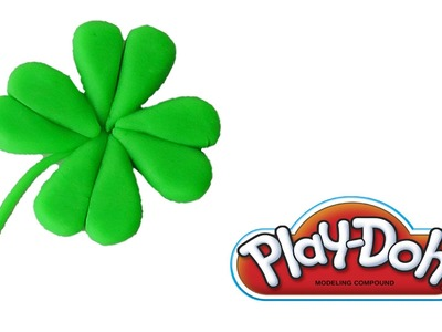 Play Doh Four Leaf Clover