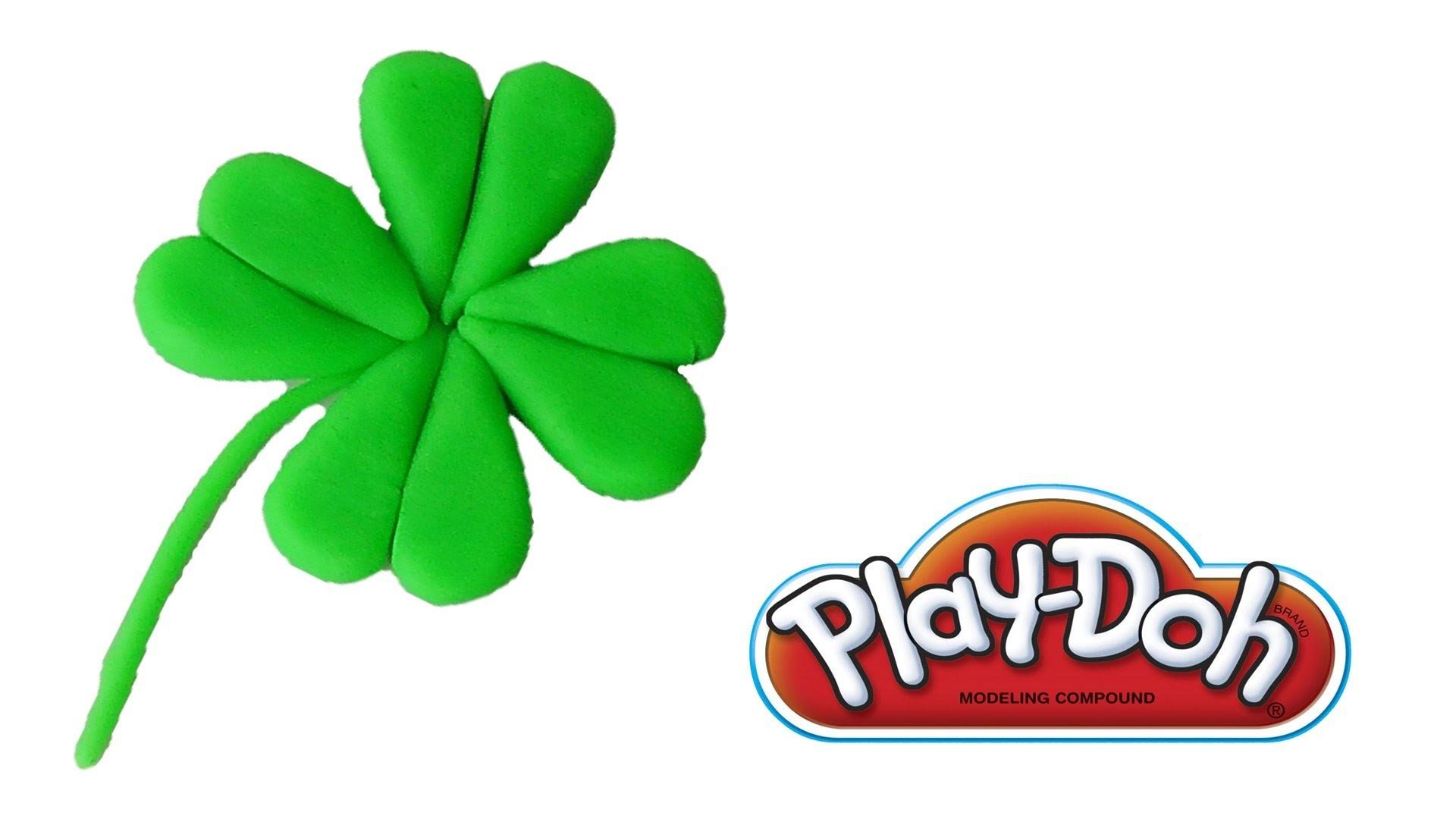 Play Doh Four Leaf Clover