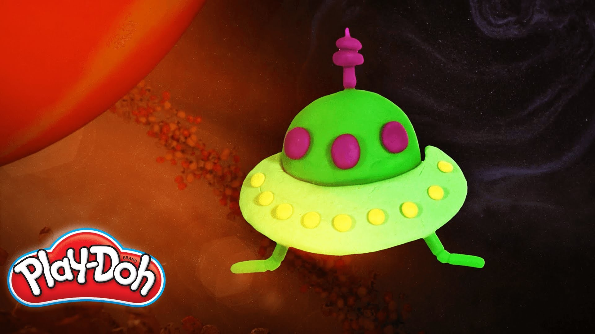 Play-Doh | 'How to Build a Spaceship!'