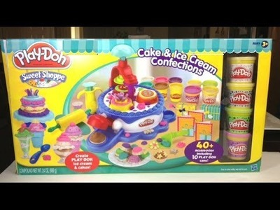 Play-Doh Huge Sweet Shoppe Ice Cream and Cake Maker Play Set More than 40+ Accessories