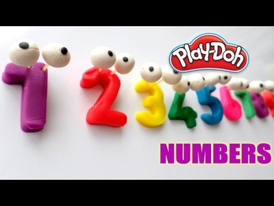 Play-Doh Numbers - Learn To Count with PLAY-DOH Numbers! 1-10