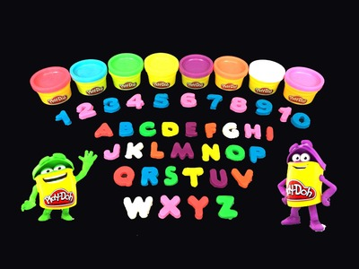 Play Doh Numbers, Letters 'n Fun Learn Letters Numbers & Colors