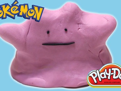 Play-Doh Pokemon Ditto Pokemon X and Y Easy