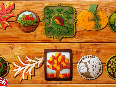 Play Doh Thanksgiving Cookies Play-Doh Craft N Toys