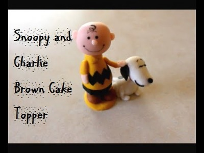 Project 21: Snoopy and Charlie Brown Cake Topper