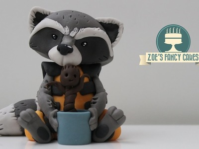 Rocket Raccoon cake topper Guardians of the Galaxy