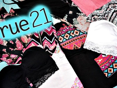 Rue 21 Haul; Pouring my heart out; Gratitude