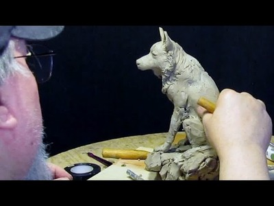 Sam Commission   Working on the Front Legs
