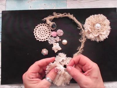 Shabby Shabby Chic Easy Flower Tutorial - jennings644