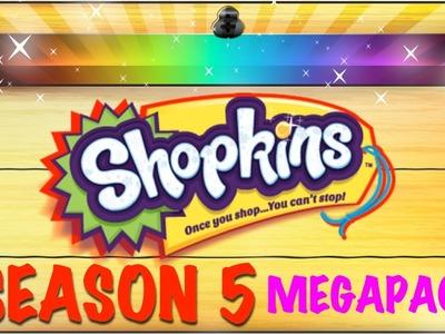 SHOPKINS SEASON 5 MegaPack + Shopkins Surprise Egg RARE Treasure Chest Videos for Kids