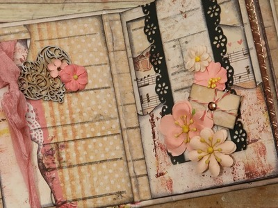 Simple & Quick Embellishing for Mini Album Pages