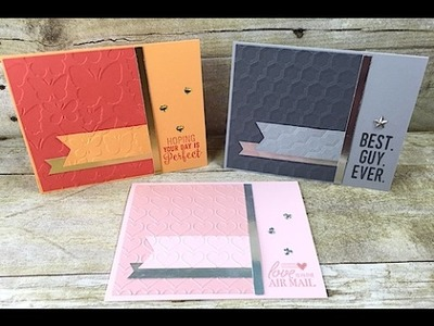 Simply Simple MAKE IT IN MINUTES - Suite Sentiments Card Collection by Connie Stewart