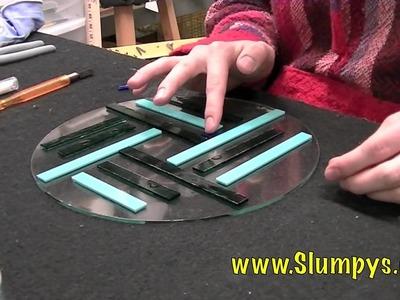 Slumpy's Bits and Strips Warm Glass Project