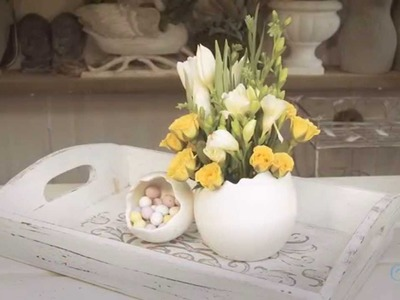 Small Spring Easter Arrangement Floristry Tutorial