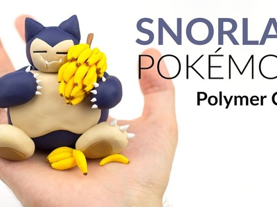 Snorlax (Pokemon) – Polymer Clay Tutorial