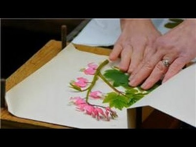Spring Flower & Vegetable Care : How to Press Fresh Cut Flowers to Keep