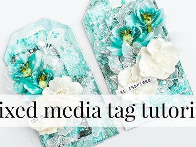 Step by step Mixed media tag tutorial