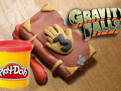 Stop motion Play Doh How to make a gravity falls journal Гравити Фолз
