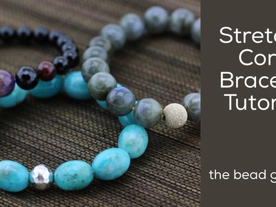 Stretchy Cord Bracelet at The Bead Gallery!