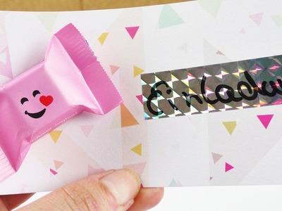 Sweet Invitation Card | Pary Invitation with Chocolate | Birthday Ideas for Kids
