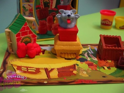 THE STORY OF THE THREE LITTLE PIGS PLAY-DOH by Kindergarten Kids HD