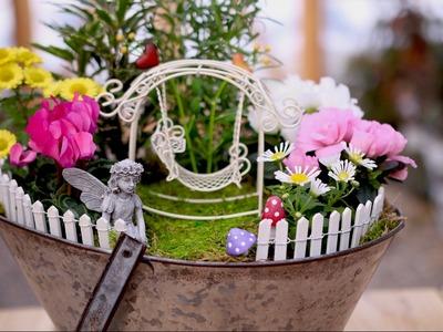 Think Spring Fairy Garden. Garden Answer
