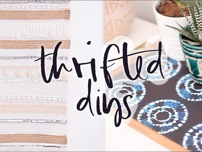 Upcycled Thrifted DIY Home Decor Projects   Summer 2017