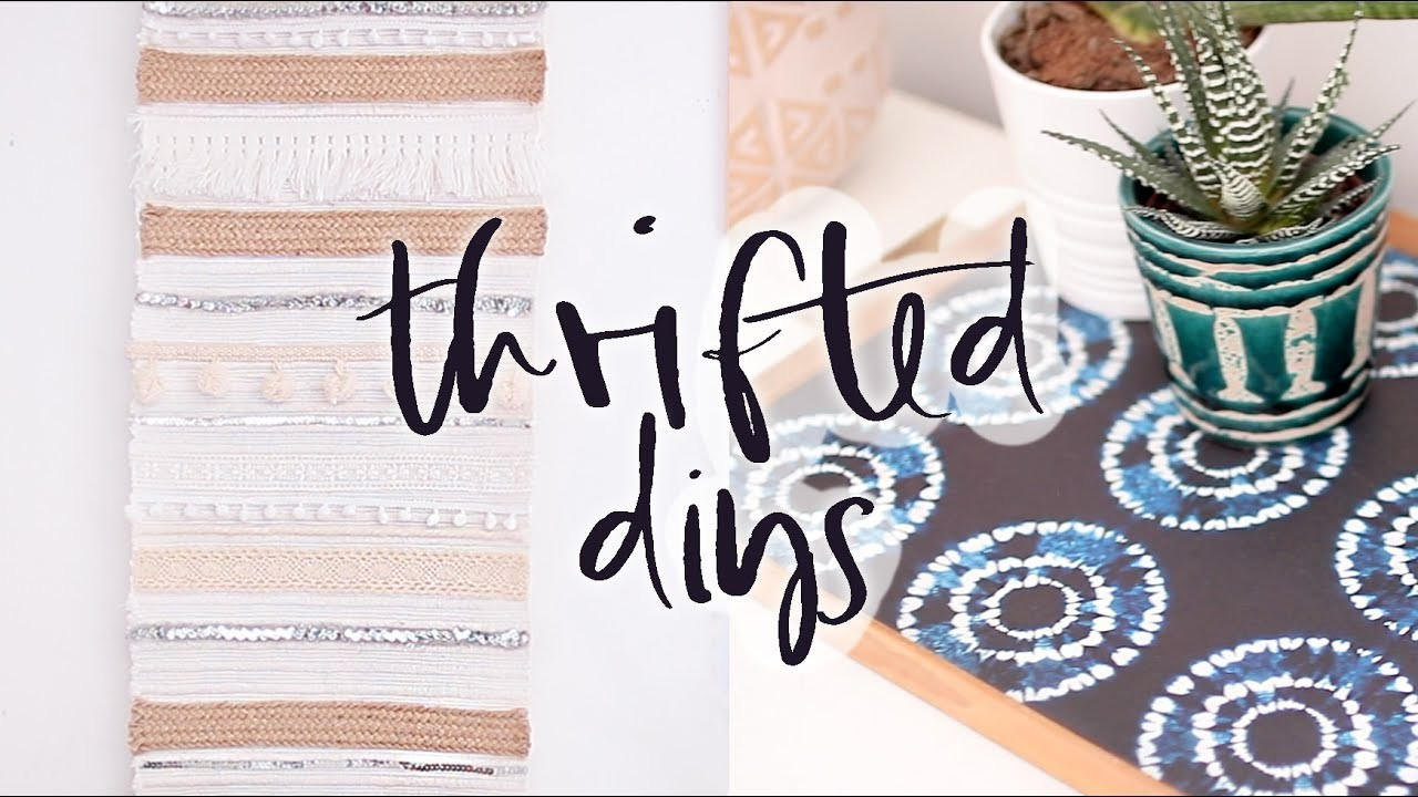 Upcycled Thrifted DIY Home Decor Projects Summer 2017 My