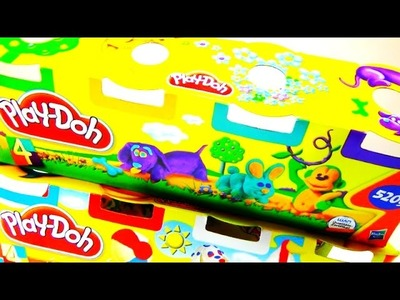 VIDEO FOR KIDS Play Doh Set 8 Tub Pack Unboxing Learn Colors Playdough Video For Kids and Children