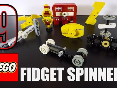 9 LEGO Fidget Spinner Toy Tutorials - How to Make a Fidget Spinner