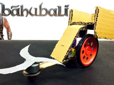 BAHUBALI CHARIOT | How to make Bahubali vehicle | DIY