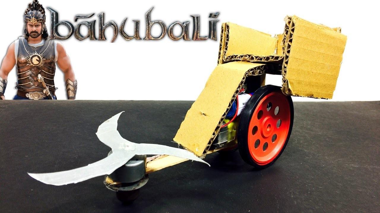 BAHUBALI CHARIOT | How to make Bahubali vehicle | DIY