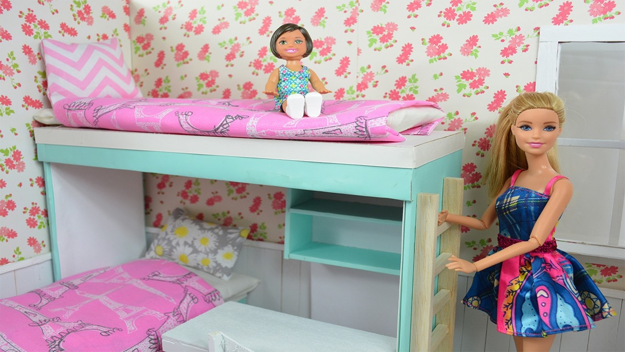 Barbie Movie How To Make A Barbie Bunk Bed Amp Complete
