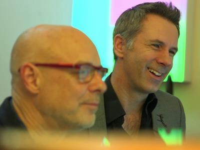 Brian Eno: How to Make A Drum Loop Interesting And Human - BBC Click