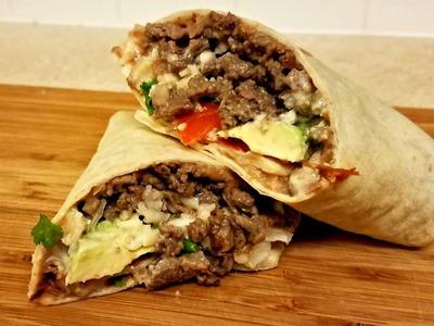 Carne Asada Burrito Recipe - How to make a Burrito