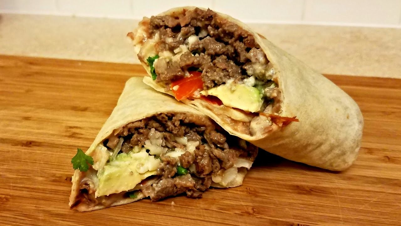 Carne Asada Burrito Recipe - How to make a Burrito