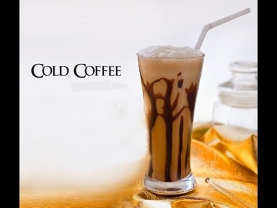Cold Coffee Recipe In Hindi English - How To Make Cold Coffee - Iced Coffee Recipe