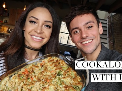 COOKALONG | How to make my Nan's Broccoli Pasta Bake with Danielle Peazer | Tom Daley