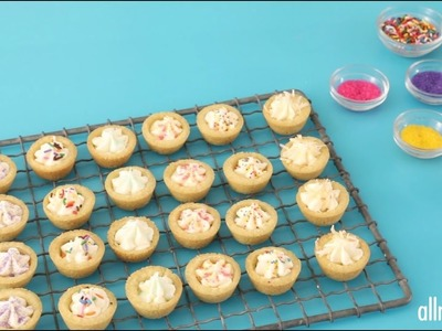 Cookie Recipes - How to Make Sugar Cookie Cups