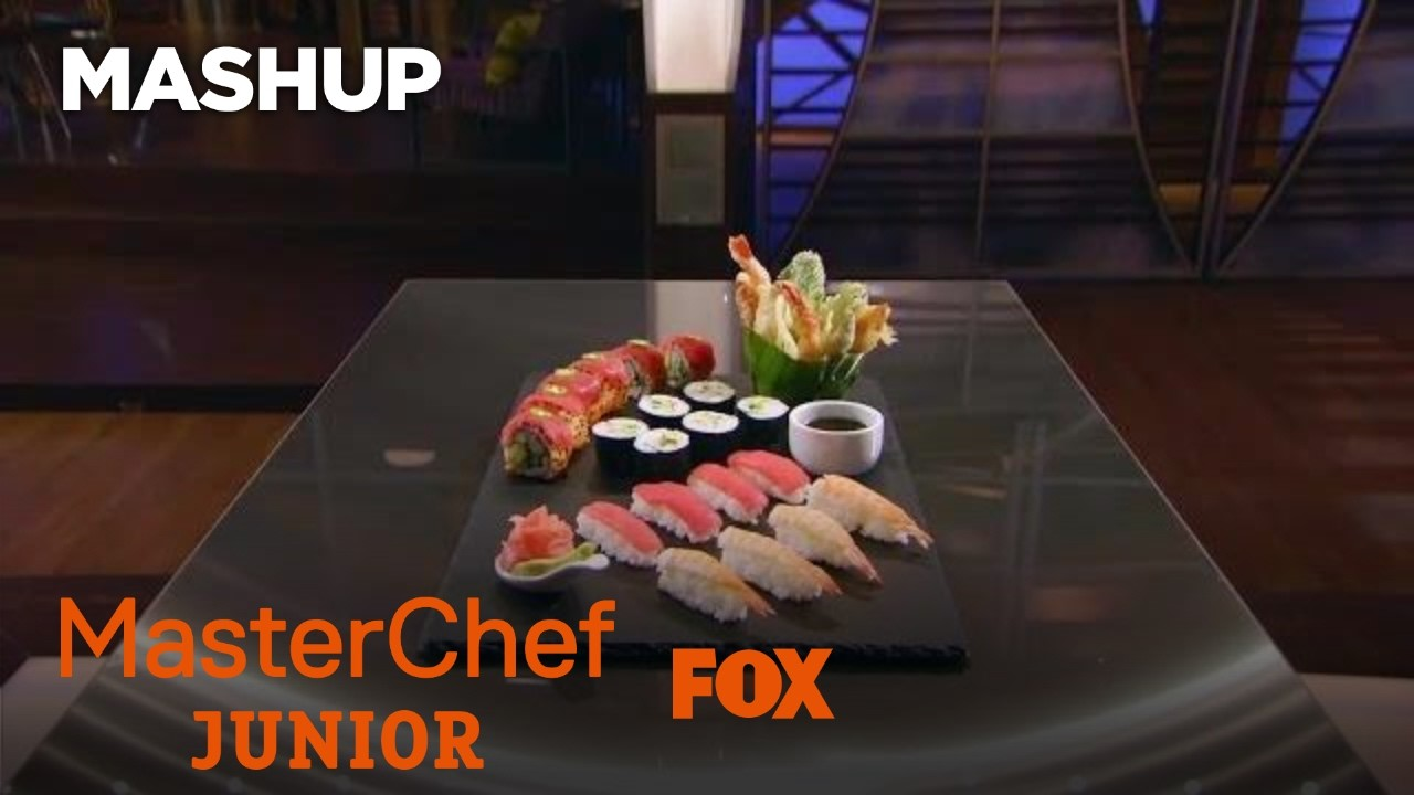 Cooking Tips: How To Make Sushi | Season 5 | MASTERCHEF JUNIOR