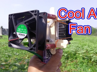 Cool air fan using peltier | How to make