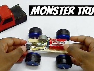 DIY Car : How to make electric toy car.