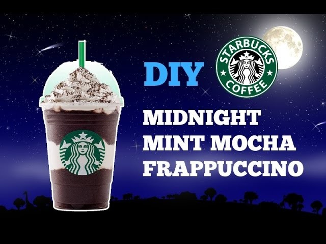 Diy Starbucks Midnight Mint Mocha Frappuccino How To Make