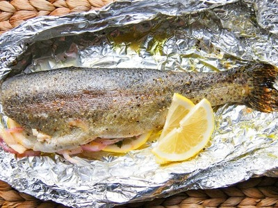 Easy 20 Minute Oven Baked Trout Recipe - How to Fillet Baked Trout