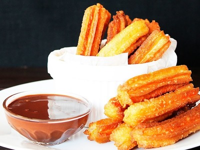 Eggless CHURROS Recipe ???? HOW TO MAKE CHURROS ???? Tasty Cooking