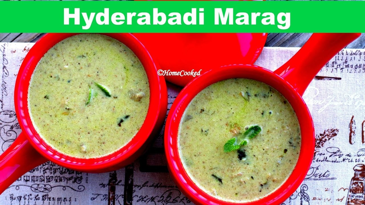 [ENG]Hyderabadi Marag - Wedding Special | How To Make Mutton Stew.Soup