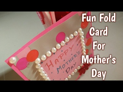 Fun Fold Card For Mother's Day | How To | Craftlas
